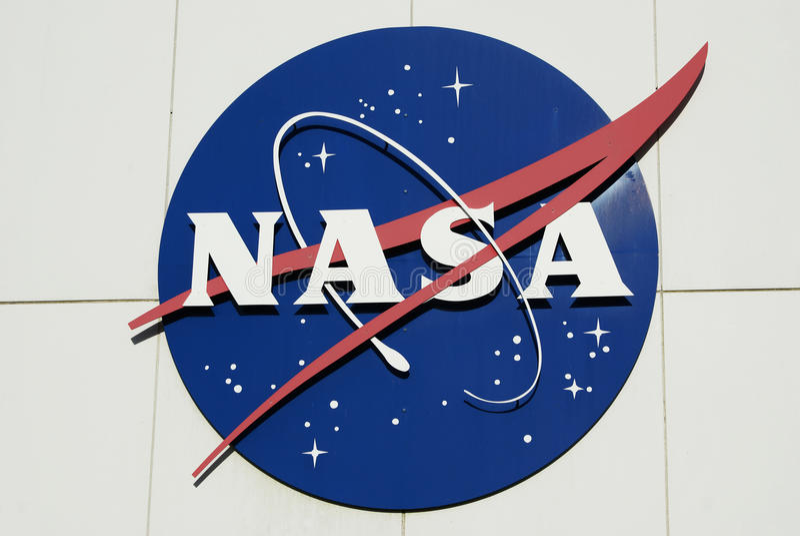 Insignes de boulette de viande de la NASA photographie stock libre de droits