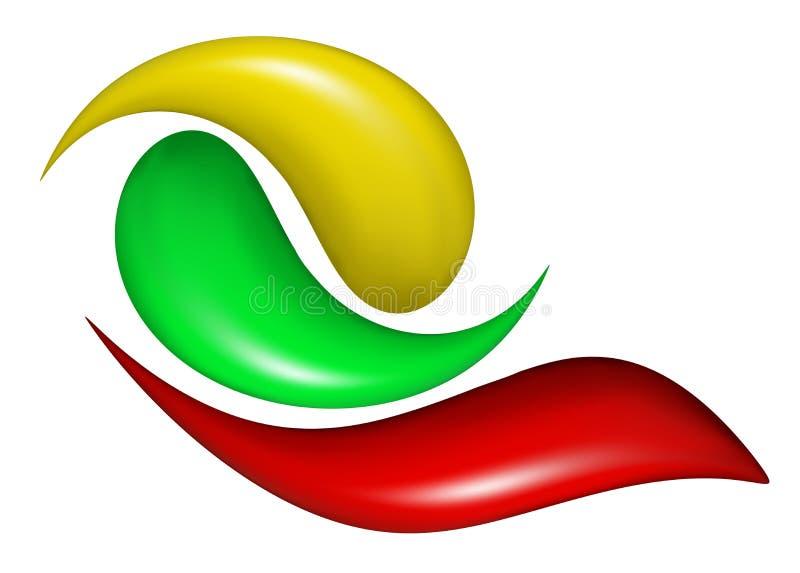 insignia stock de ilustración