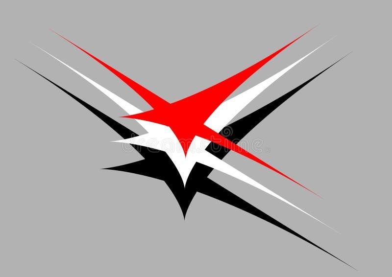 Insignia ilustración del vector