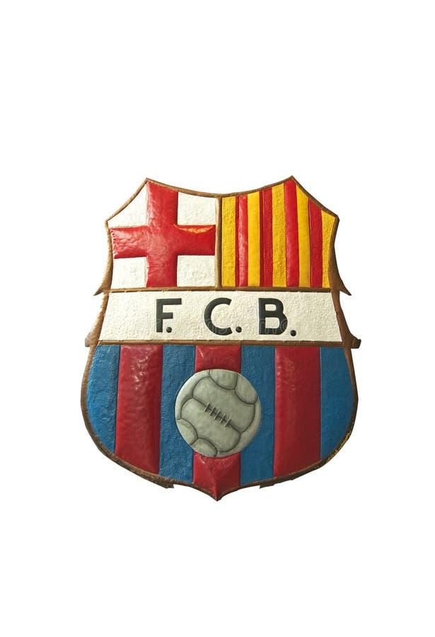Insignia de Barcelona FC fotografía de archivo