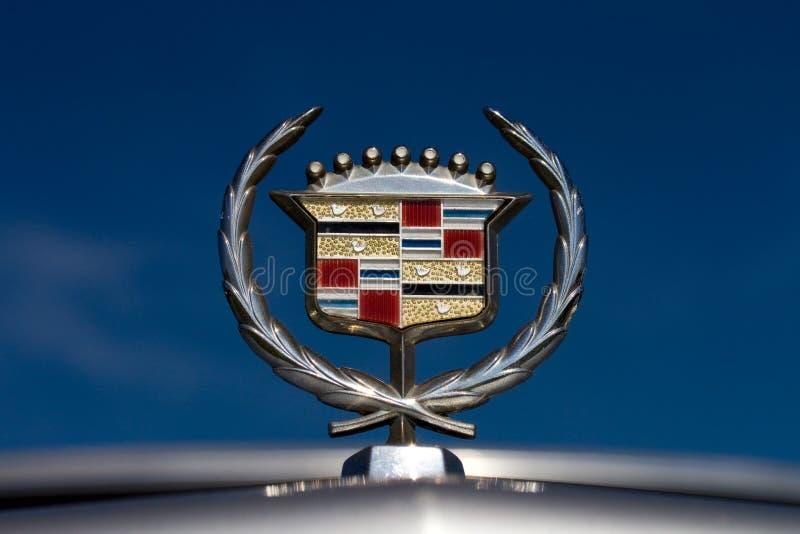 Insignia de Cadillac fotografía de archivo libre de regalías