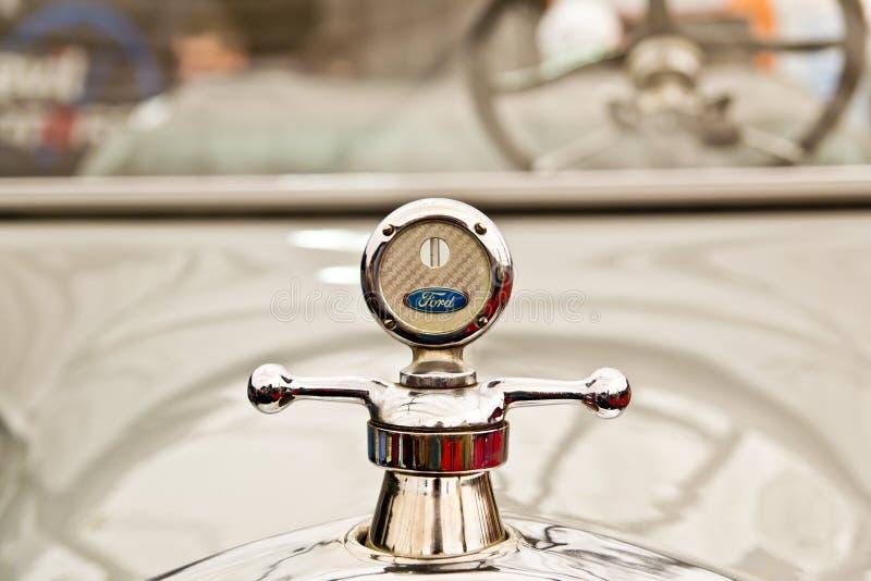 Insignia de Ford fotografía de archivo