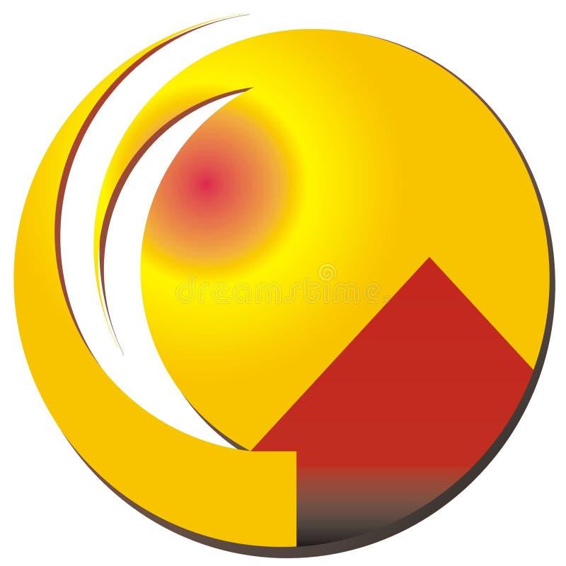 Insignia de la casa ilustración del vector