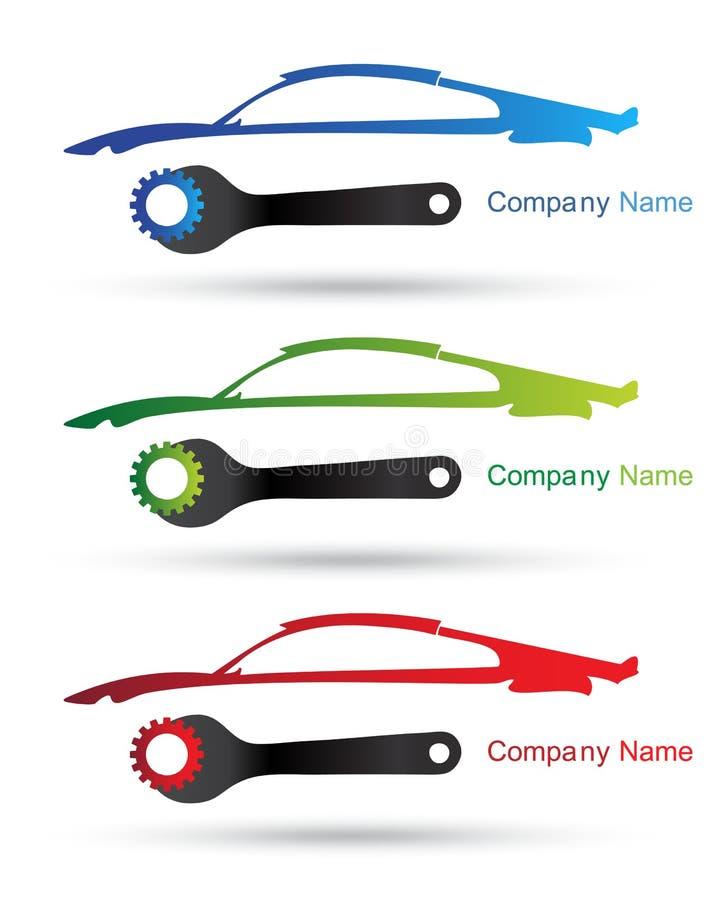 Insignia de la compañía de coche stock de ilustración