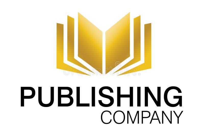 Insignia de la compañía de publicación stock de ilustración