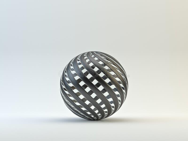 Insignia de la esfera stock de ilustración