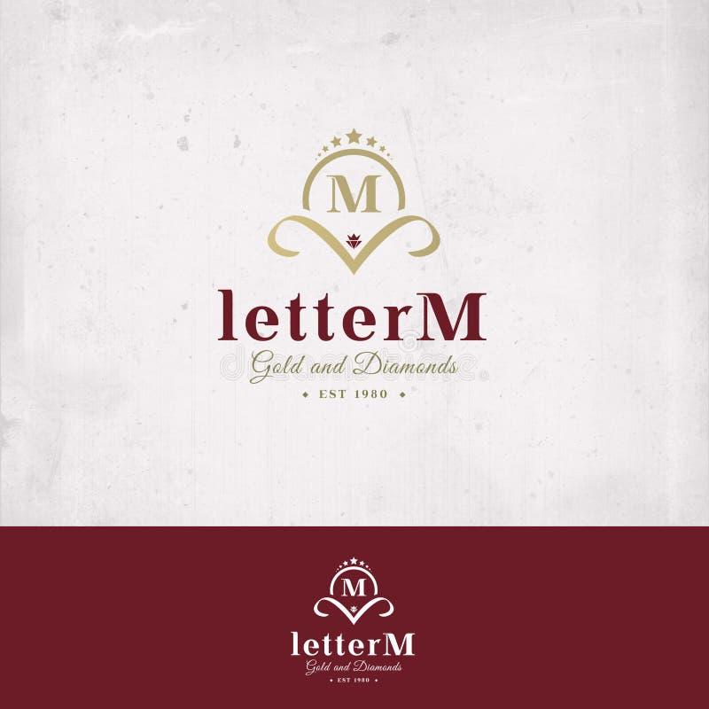 Insignia de la letra M fotografía de archivo libre de regalías
