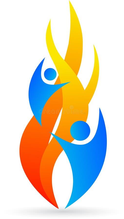 Insignia de la llama libre illustration