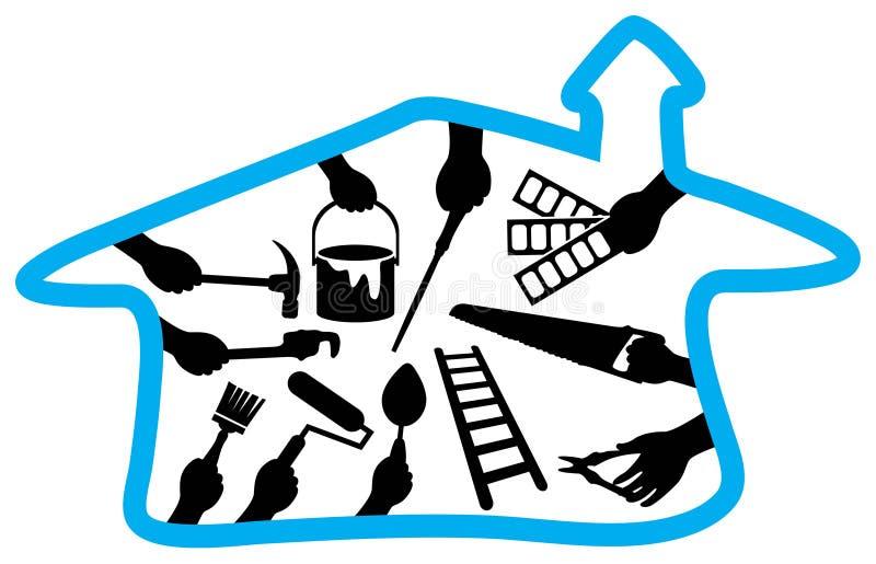 Insignia de la renovación libre illustration