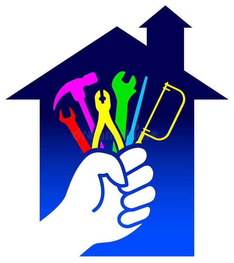 Insignia de la renovación de la casa libre illustration