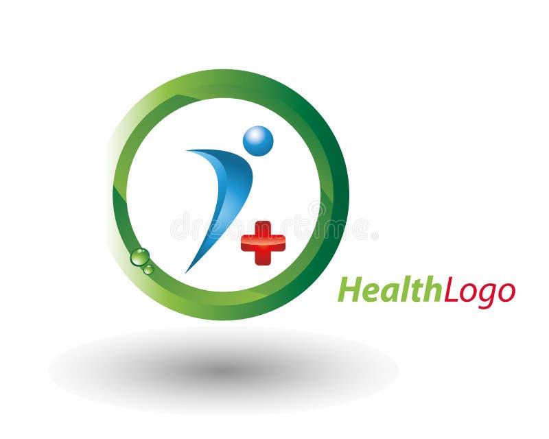 Insignia de la salud libre illustration