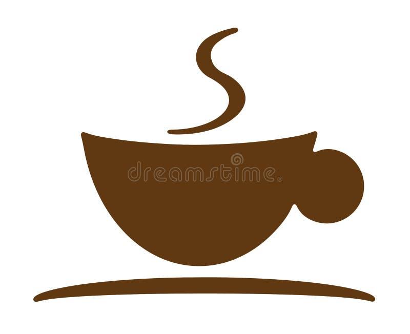 Insignia de la taza de café libre illustration