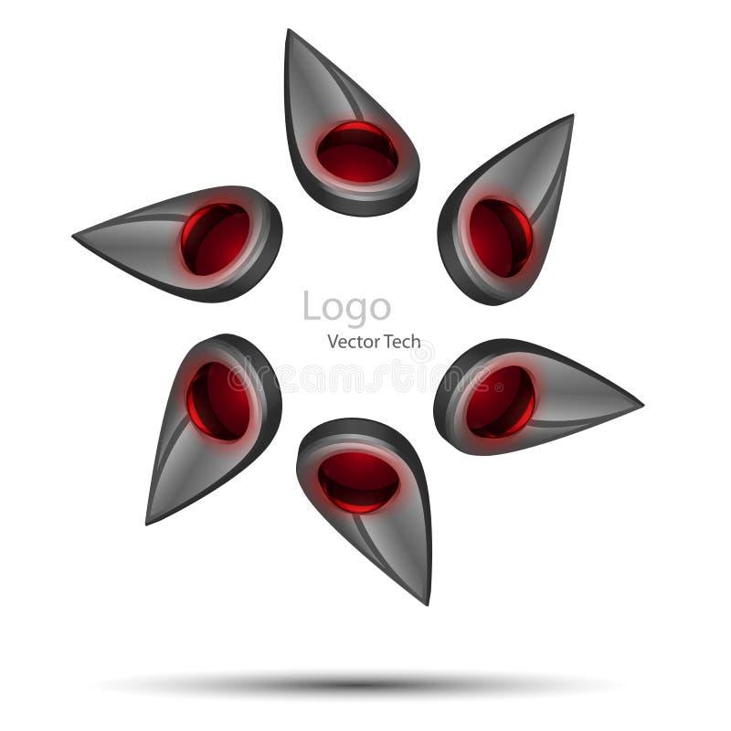 Insignia de la tecnología del vector libre illustration