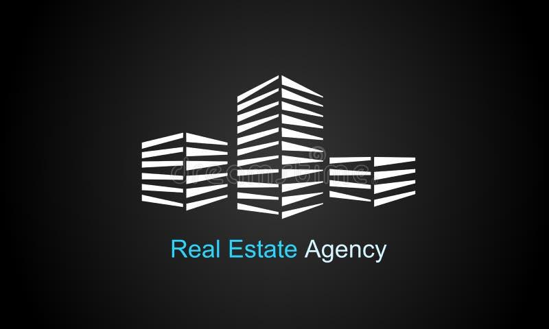 Insignia de las propiedades inmobiliarias imagen de archivo libre de regalías