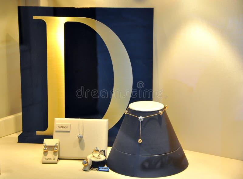 Insignia de lujo famosa de la marca de fábrica foto de archivo libre de regalías