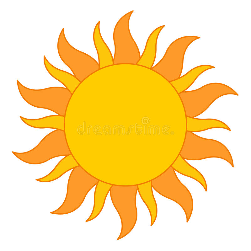 Insignia De Sun Fotos de archivo libres de regalías