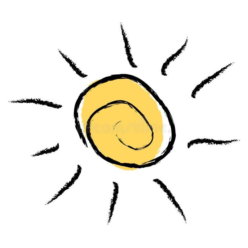 Insignia De Sun Imagen de archivo libre de regalías