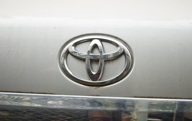 Insignia de Toyota fotografía de archivo libre de regalías