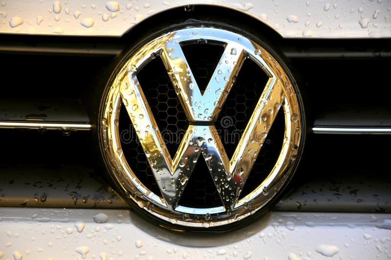 Insignia de Volkswagen imágenes de archivo libres de regalías