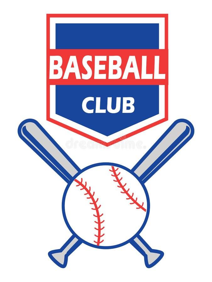 Insignia del béisbol ilustración del vector