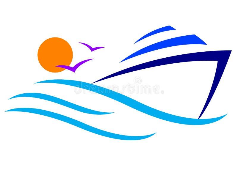 Insignia del barco libre illustration