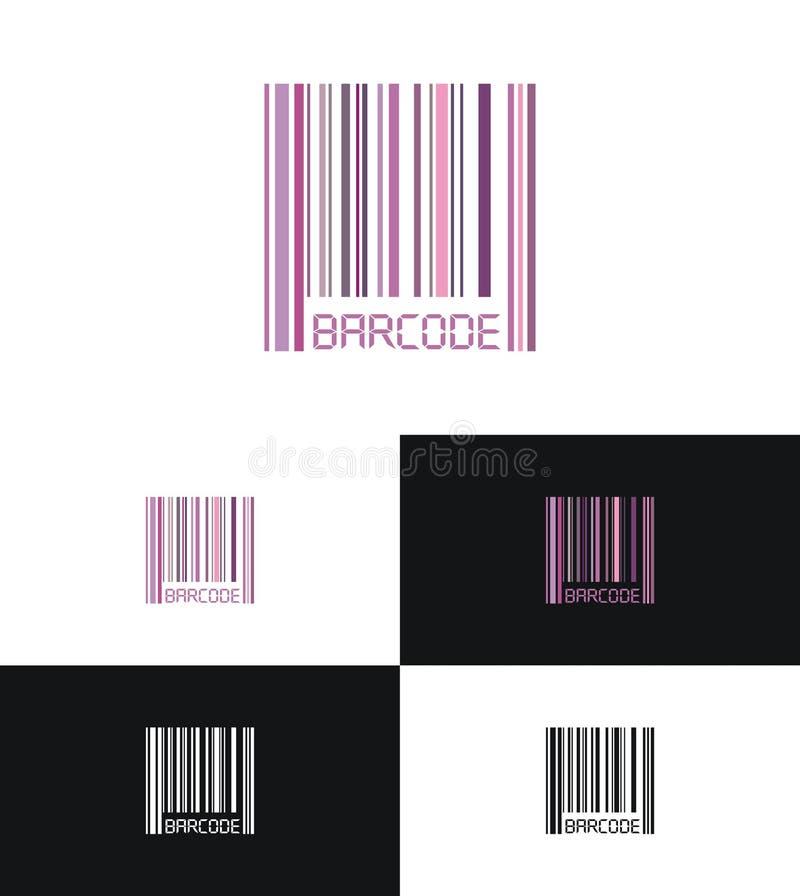 Insignia del código de barras ilustración del vector