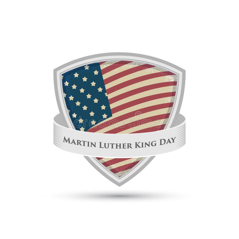 Insignia del día de Martin Luther King libre illustration