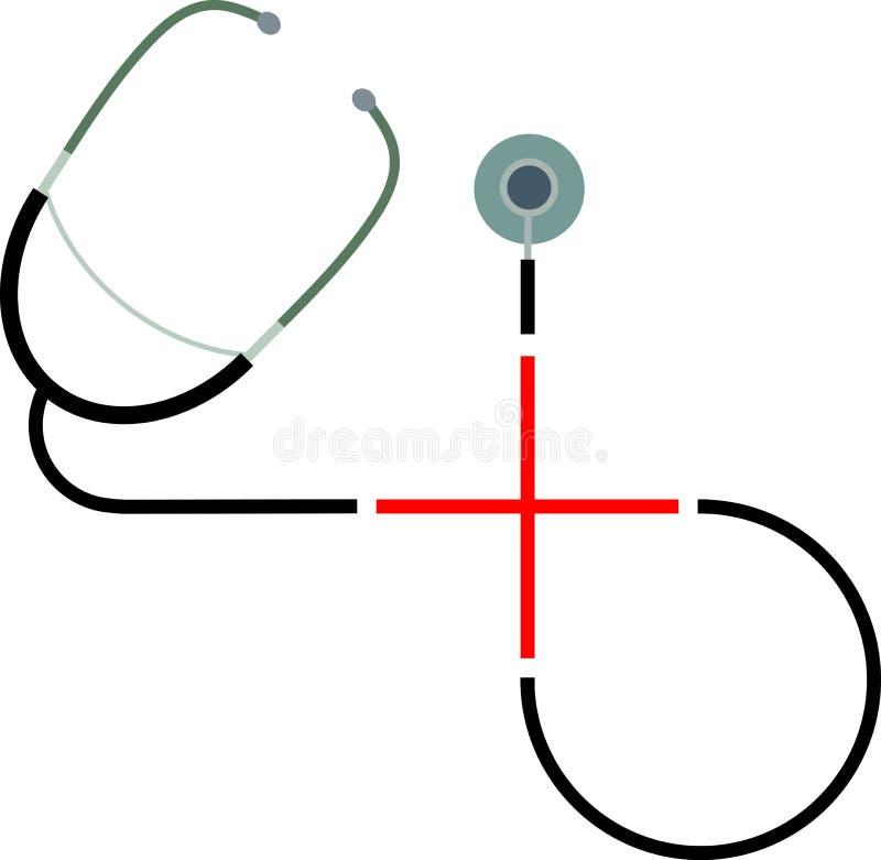 Insignia del hospital libre illustration