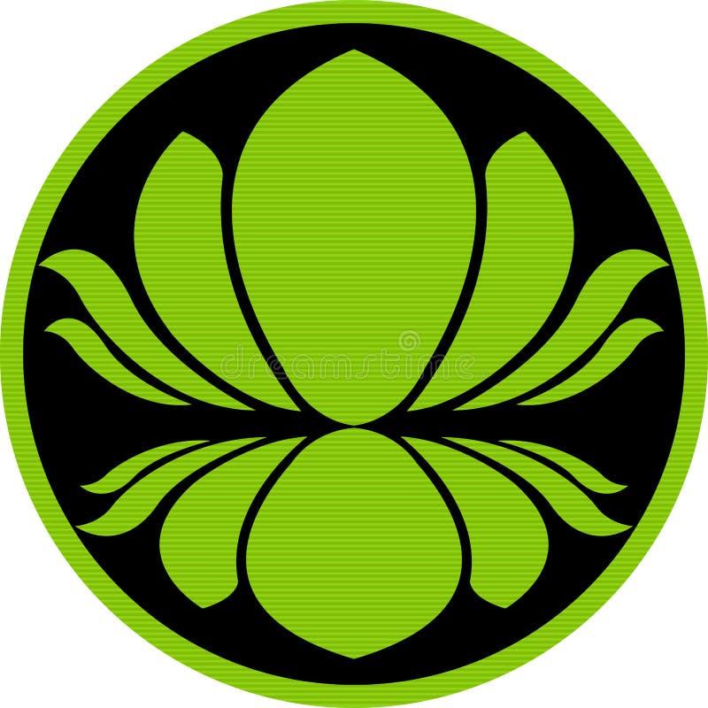 Insignia del loto libre illustration