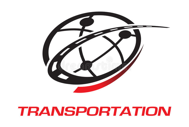 Insignia del transporte libre illustration