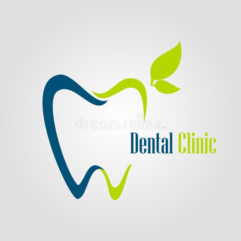 Insignia dental ilustración del vector