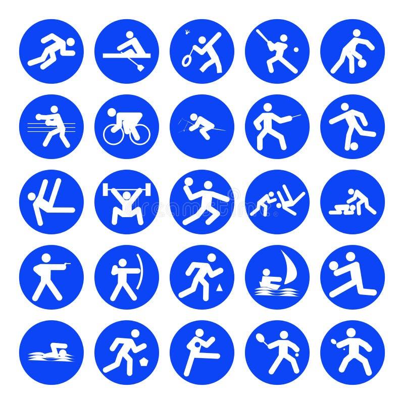 Insignias De Deportes Imágenes de archivo libres de regalías