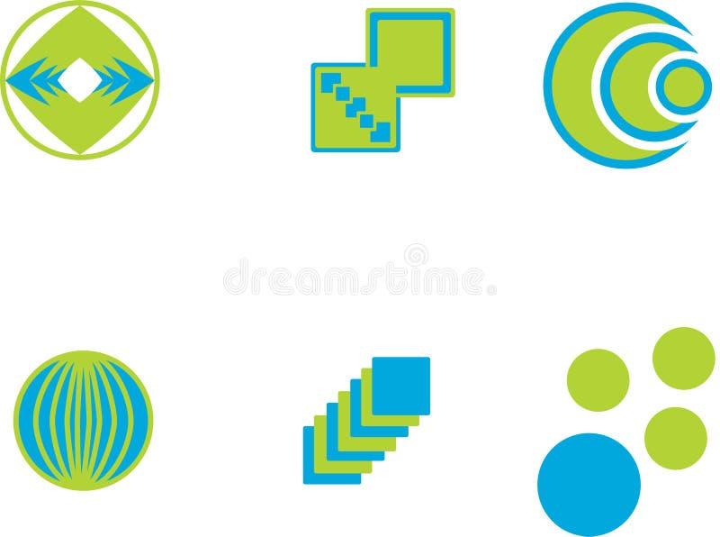 Insignias del vector libre illustration