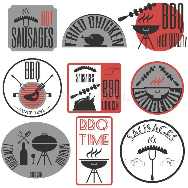 Insignias del vintage, cintas y letrero retros determinados del inconformista de las etiquetas stock de ilustración
