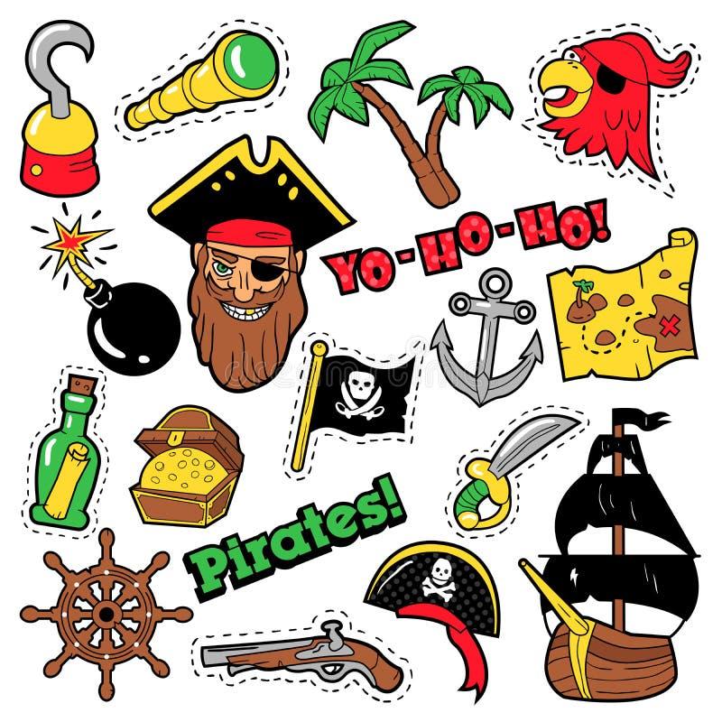 Insignias, Remiendos, Etiquetas Engomadas - Nave, Bandera Pirata Y ...
