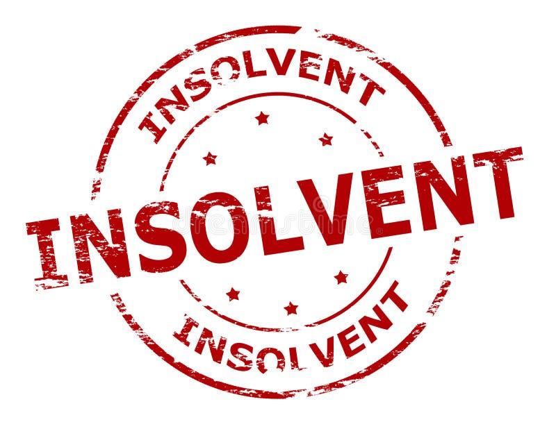 insolvable illustration libre de droits