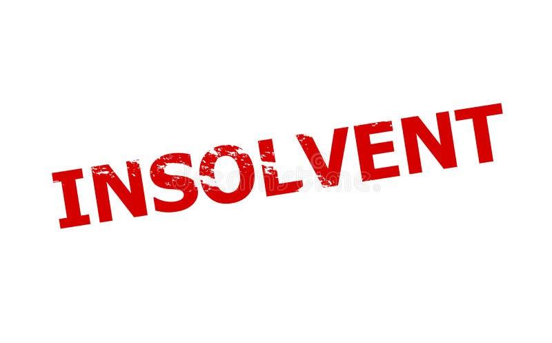 insolvable illustration de vecteur