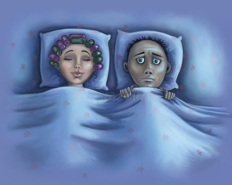 Download Insomnia stock illustration. Image of illustration, calm - 27411782