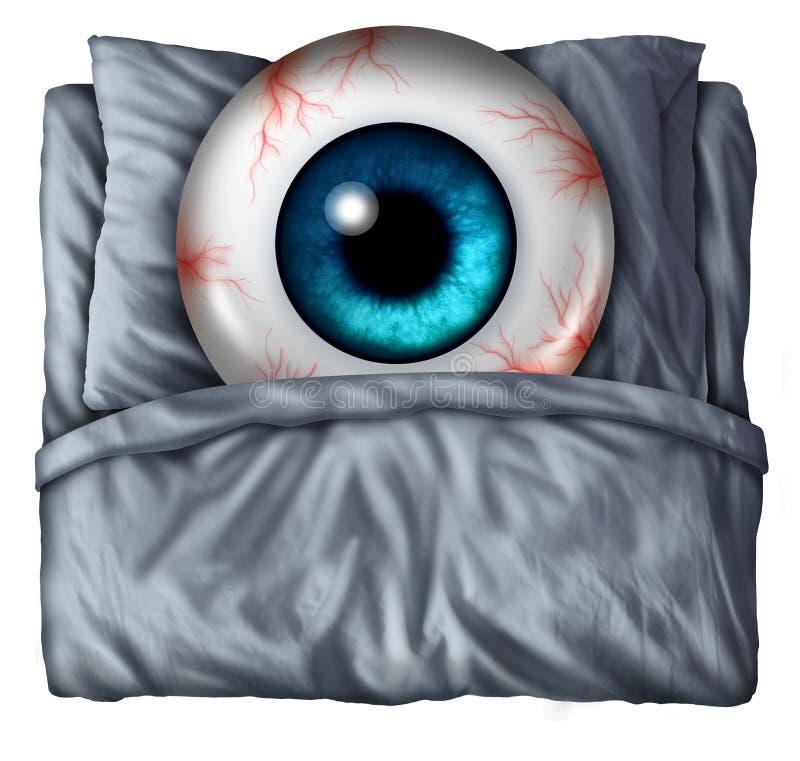 insomnia ilustração stock
