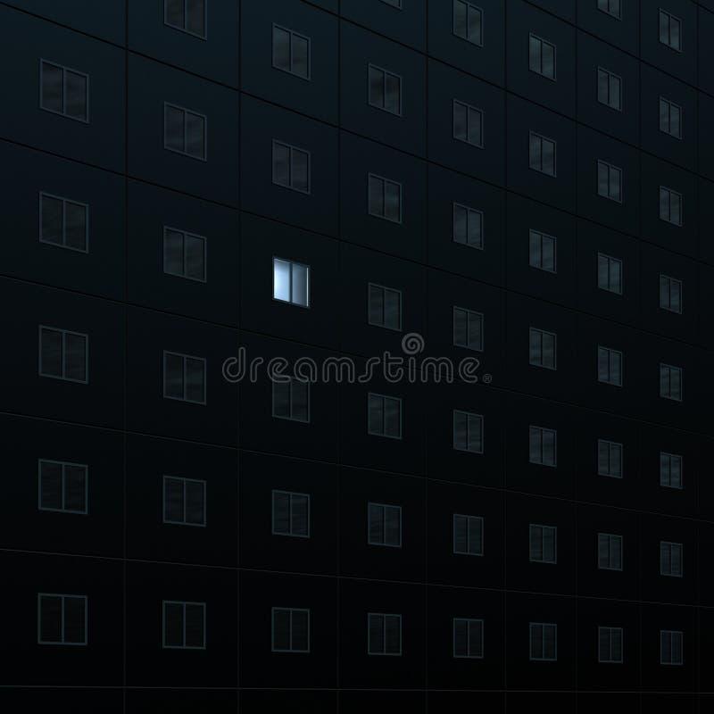Download Insomnia stock illustration. Image of architecture, creative - 9647630