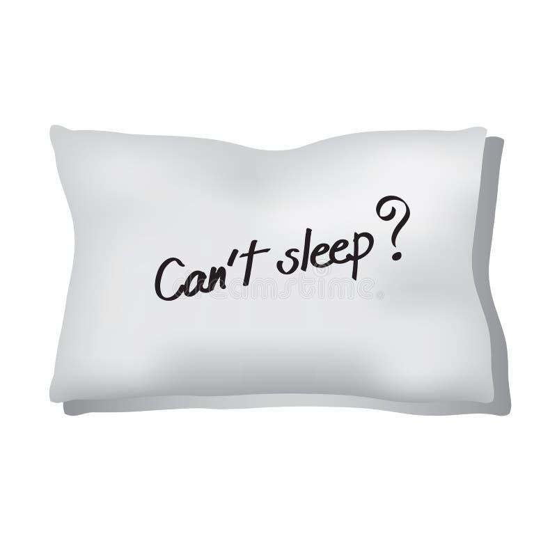 insomnie illustration de vecteur