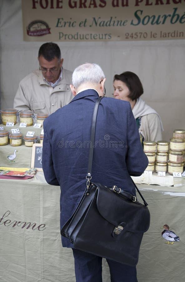 Inspeção de alimento Paris fotos de stock royalty free