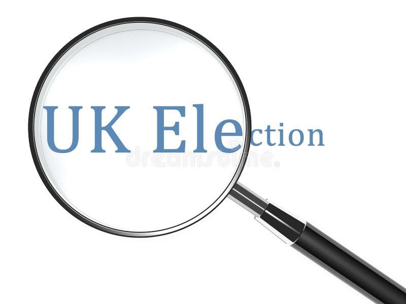 Inspection d'élection illustration de vecteur