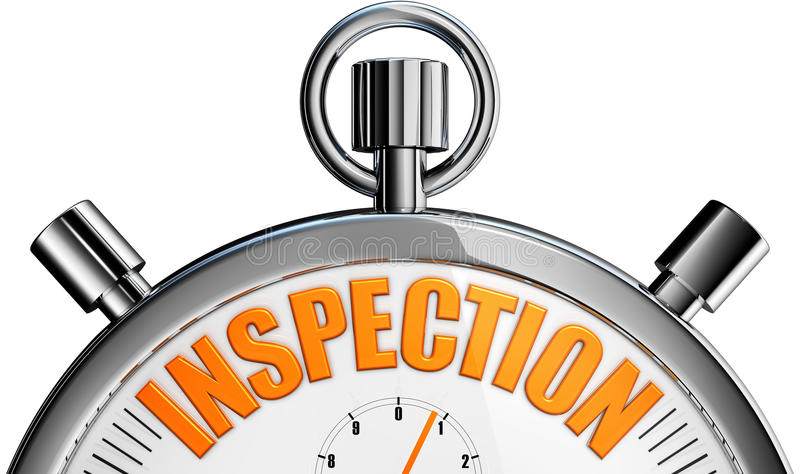 Inspection stock images