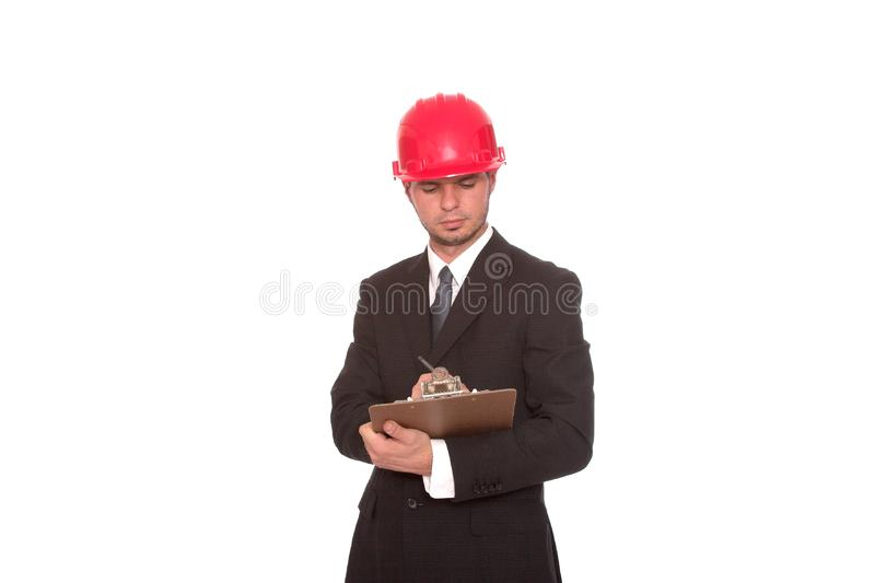 The inspector 4 stock image