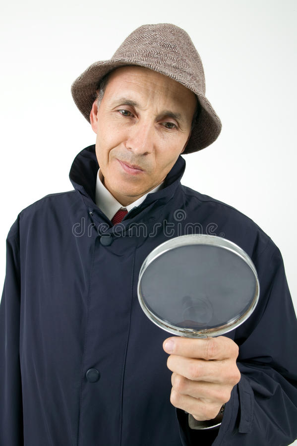 Inspector stock image
