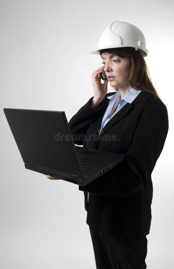 Inspector de edifício imagens de stock royalty free