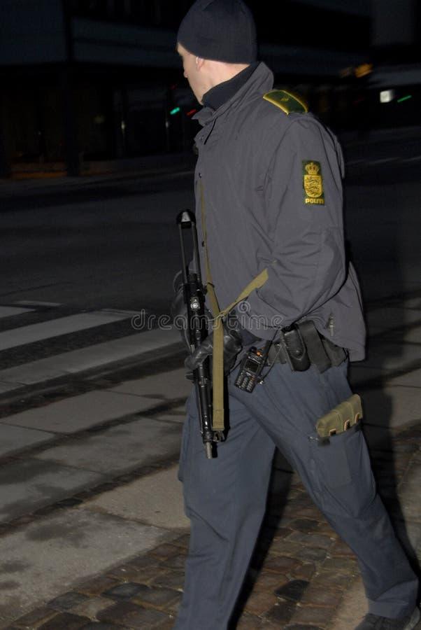 INSPECTOR DE POLÍCIA PRINCIPAL DE TOBEN MOLGAARD JENSEN fotografia de stock