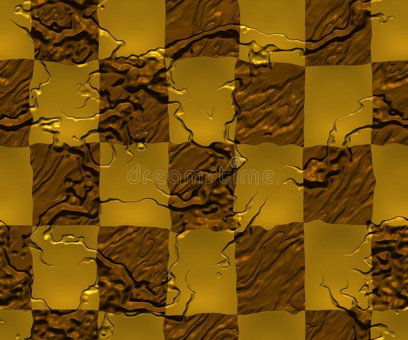 Inspectores de oro ilustración del vector