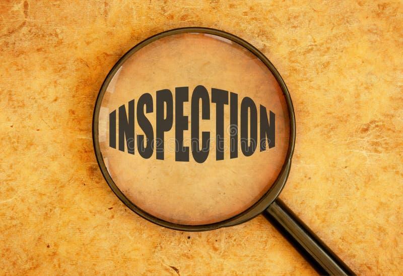Inspekcja zdjęcia stock